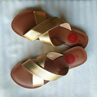 Gold Criss Cross Slides